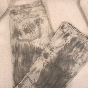 Super Rad Bleached 7 for All Mankind A Pocket Jean